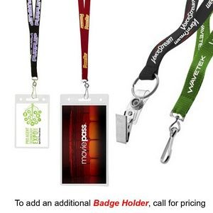 "1/2"" Econo Lanyard (QUICK SHIP 7-11 Days))"